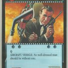 James Bond 007 CCG Bell Jet Pack Uncommon Game Card Thunderball