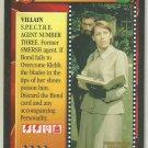 James Bond 007 CCG Colonel Rosa Klebb Uncommon Game Card