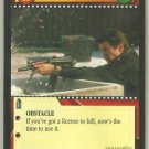 James Bond 007 CCG Firefight Uncommon Game Card Goldeneye