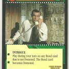 James Bond 007 CCG M is Displeased Uncommon Game Card From Russia With Love