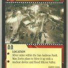 James Bond 007 CCG Main Strike Mine Uncommon Game Card A View To A Kill