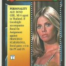James Bond 007 CCG Mary Goodnight Uncommon Game Card The Man With The Golden Gun