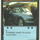 James Bond 007 CCG Modified BMW Uncommon Game Card Goldeneye