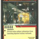 James Bond 007 CCG Prevent Nuclear Launch Uncommon Game Card