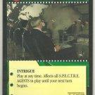 James Bond 007 CCG S.P.E.C.T.R.E. Consortium Uncommon Game Card Thunderball