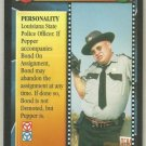 James Bond 007 CCG Sheriff J. W. Pepper Uncommon Game Card Live And Let Die