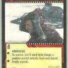 James Bond 007 CCG Snowstorm Uncommon Game Card Goldeneye
