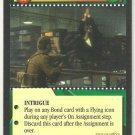 James Bond 007 CCG Swoosh Uncommon Game Card Goldeneye