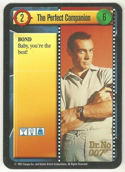 James Bond 007 CCG The Perfect Companion Uncommon Game Card Dr. No