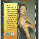 James Bond 007 CCG Pam Bouvier Chase Game Card Licence To Kill