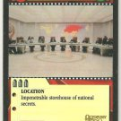 James Bond 007 CCG Soviet War Room Chase Game Card Octopussy