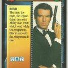 James Bond 007 CCG The Legend Chase Game Card Goldeneye