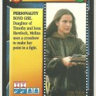James Bond 007 CCG Melina Havelock Rare Game Card For Your Eyes Only