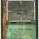 Tomb Raider CCG Dim Cavern 005 Starter Game Card Unplayed