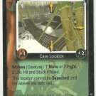 Tomb Raider CCG Wolf Bridge 011 Starter Game Card Unplayed