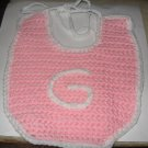 Pink Green Bay Packers Baby Bib