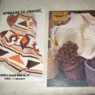 Afghan booklets by Coats and Clarks