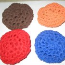 4  crochet scrubbies pot scrubbers