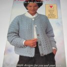 Red Heart Quick to knit,Quick to crochet book 379