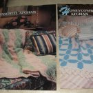 Pinwheel and Honeycomb afghan Annies Attic Crochet pattern