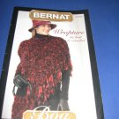 Bernat Wrapture to knit and crochet