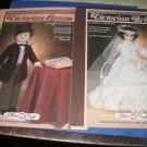 Victorian bride and groom Fibre Craft Crochet Booklets