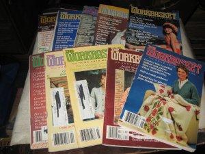 Workbasket magazines lot of 10,1984