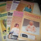 Workbasket magazines lot of 8,1986