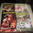 Annies Attic Pattern Club 4 issues