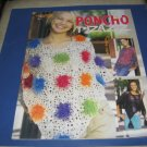 Leisure arts 3890 Poncho Pizzazz by Kay meadors