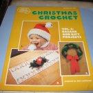 American School of needlework Christmas crochet booklet 8