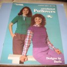 Leisure Arts 257 Crocheted Pullovers