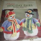 Herrschners Happy Holiday Pairs by Barbara Sestok crochet patterns