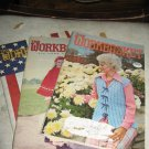 Workbasket magazines 3 issues  1976