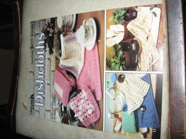 Leisure Arts No. 2077 Dishcloths crochet patterns