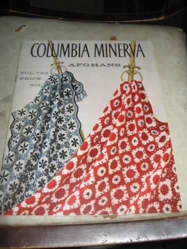 Afghans Columbia Minerva vol. 722 crochet patterns