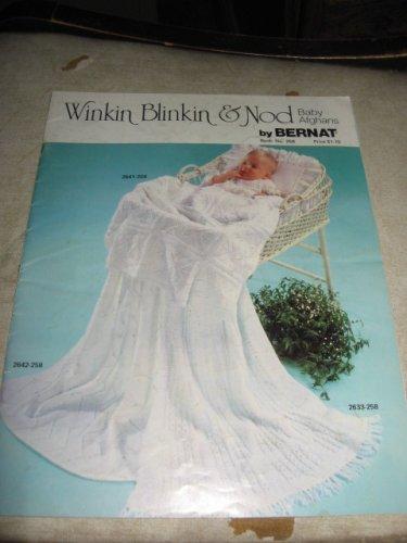 Winkin blinkin and Nod baby afghans by Bernat book 258 crochet patterns