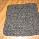 Black Crochet Dish Cloth
