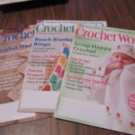 Crochet World 3 issues 2010