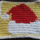 Crochet Santa Christmas Hat 100% cotton yarn