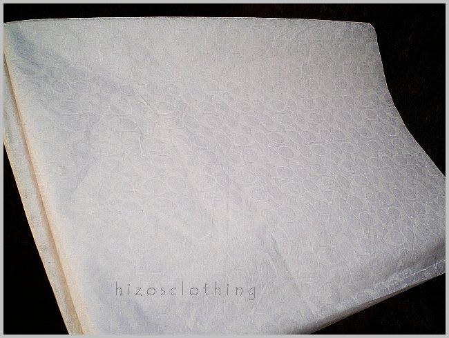 Authentic Coach Signature Logo White Tissue Paper
