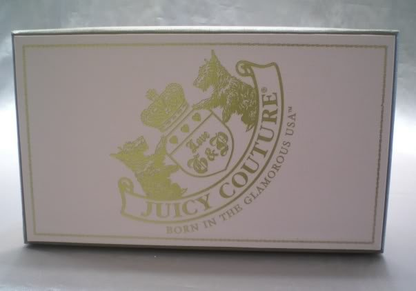 Authentic Juicy Couture Yorkie Crest Gift Box