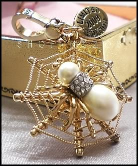 Authentic Limited Edition Juicy Couture Spider Charm NIB