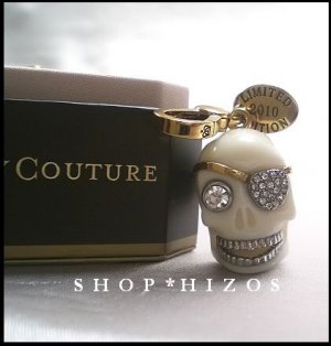 Juicy Couture Limited Edition 2010 Skull Charm NIB