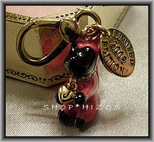 Authentic Limited Edition Juicy Couture Devil Yorkie Charm NIB