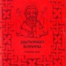 Pachomian Koinonia - Volume 1