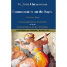 Commentary on the Sages (Volume 2) - John Chrysostom
