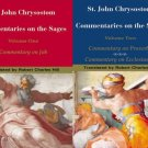 Commentary on the Sages (2 Volumes) - John Chrysostom