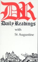 Daily Readings with Augustine