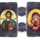 Eastern Orthodox Icon Bracelet (Hematite)